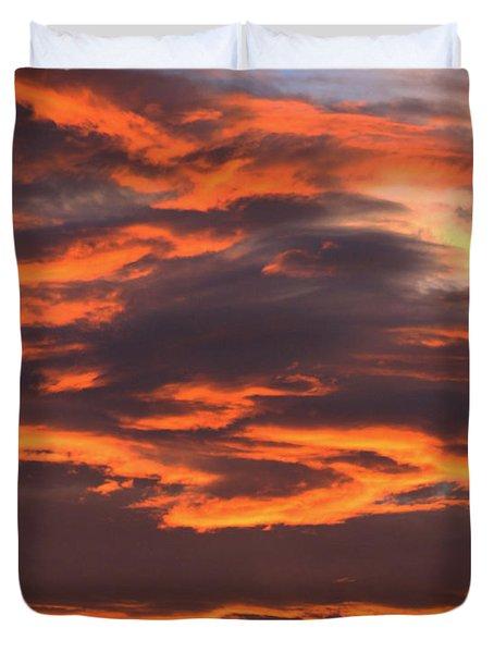 Sunset Duvet Cover by Pamela Walton