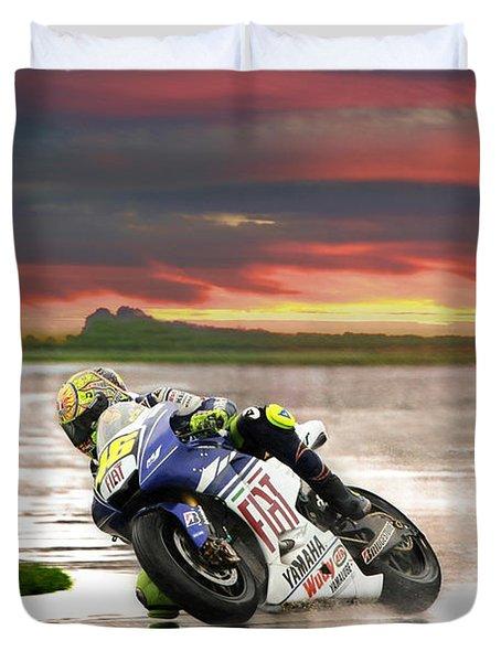 Sunset Rossi Duvet Cover
