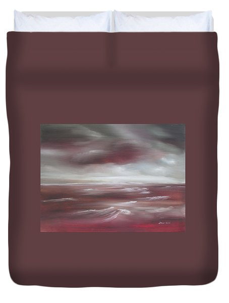 Sunset Sea Duvet Cover