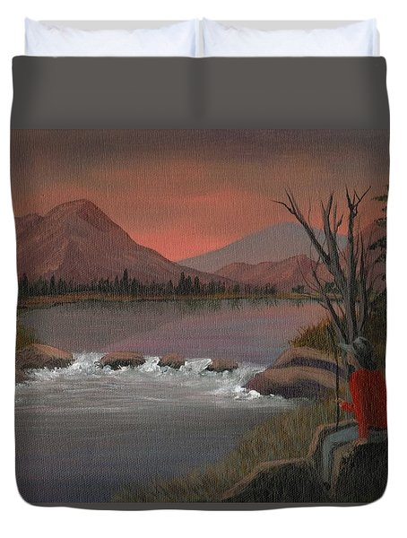 Sunset Serenade Duvet Cover by Sheri Keith