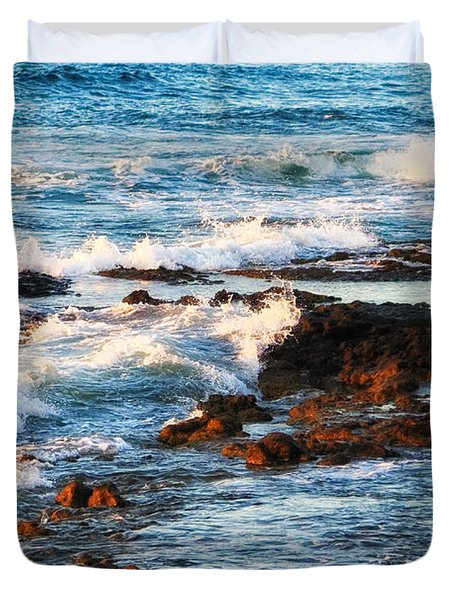 Sunset Shore Duvet Cover