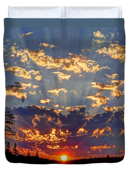 Sunset Spectacle Duvet Cover