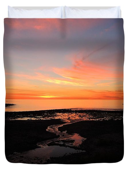 Field River, Hallett Cove Duvet Cover