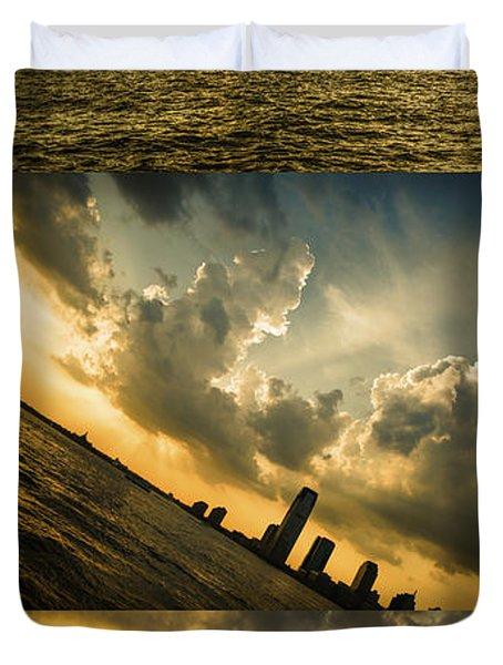 Sunset Trilogy Duvet Cover
