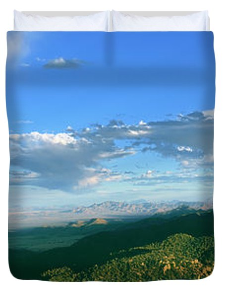 Sunset View From Massai Point Duvet Cover