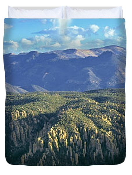 Sunset View From Sugarloaf Mountain Duvet Cover