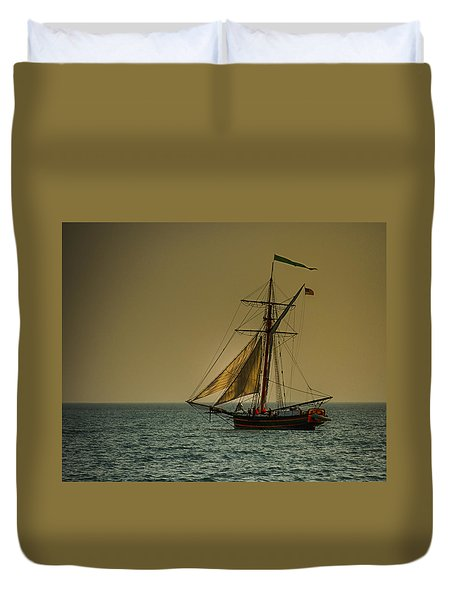 Sunset Voyage Duvet Cover