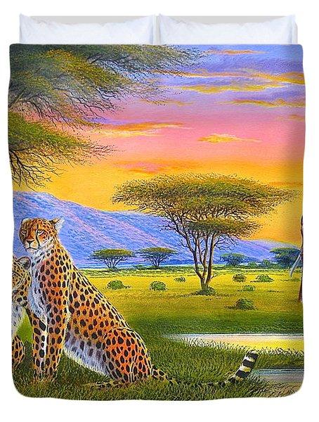 Sunset Watch Duvet Cover