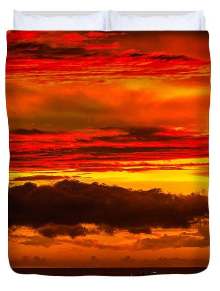 Sunset Wow2 Duvet Cover
