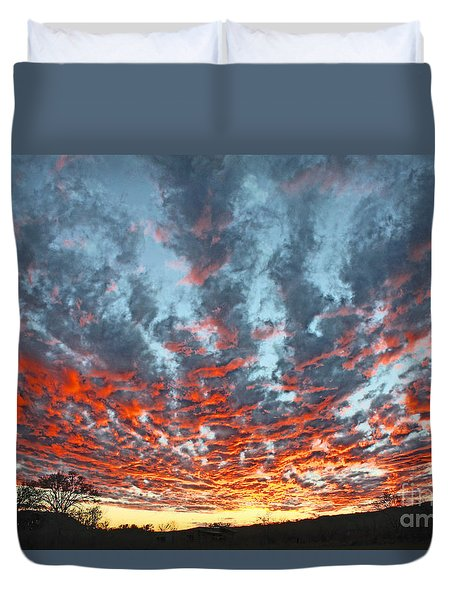 Sunset Colorado Country Style Duvet Cover