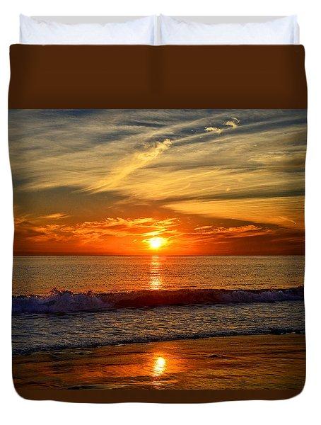 Sunset's Glow  Duvet Cover