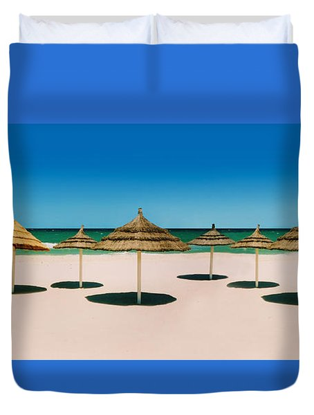 Sunshade Island Duvet Cover