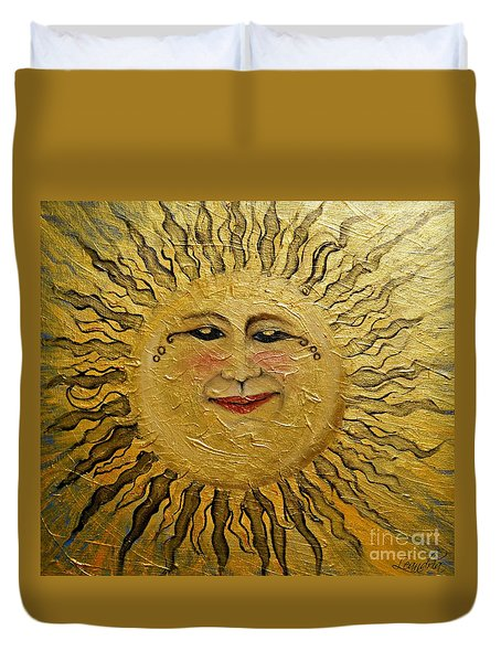 Sunshine 2012 Duvet Cover