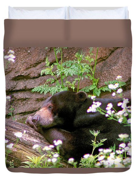 Sunshine Bear Duvet Cover