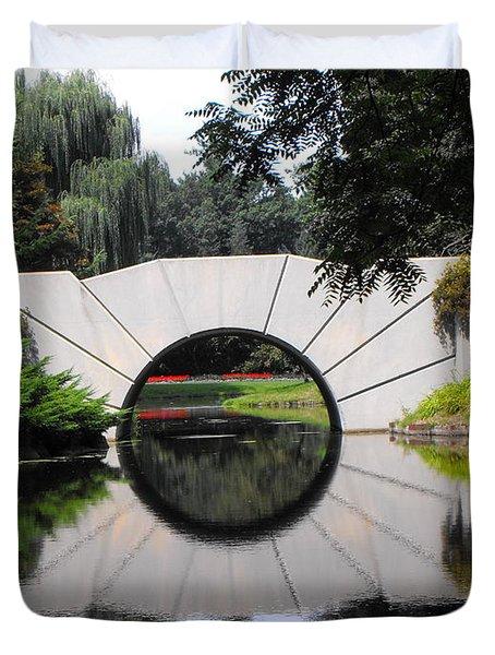 Sunshine Bridge Duvet Cover