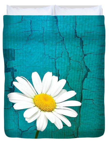 Sunshine Daisy Duvet Cover