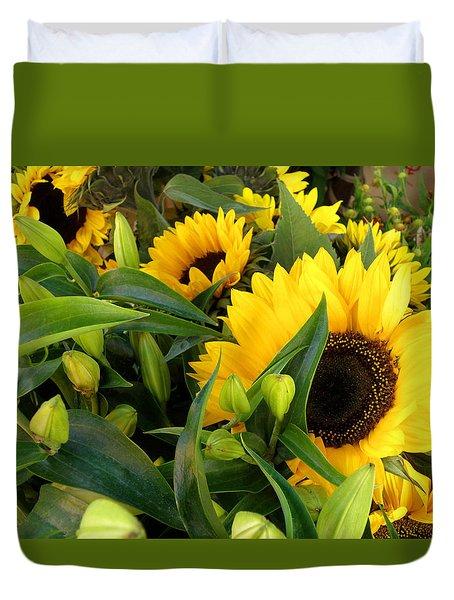 Sunshine For Sale Duvet Cover