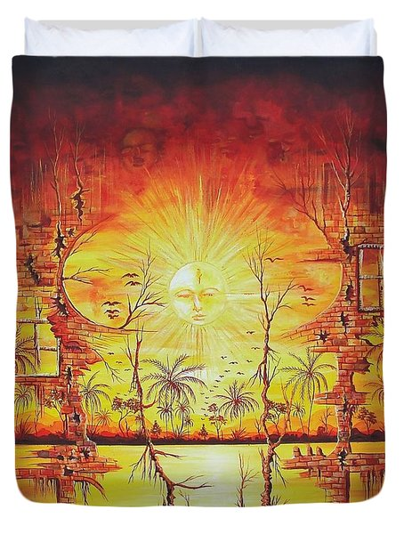 Sunshine On My Mind Duvet Cover