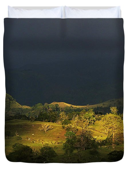 Sunspot After The Storm Duvet Cover by Heiko Koehrer-Wagner