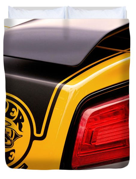 Super Bee Powered By Srt Duvet Cover
