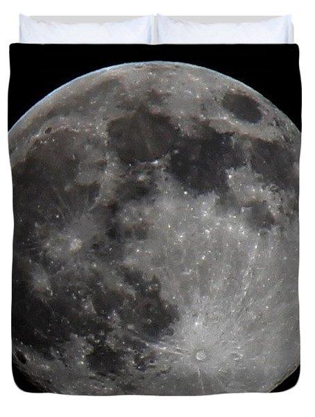 Super Moon 2014 Duvet Cover