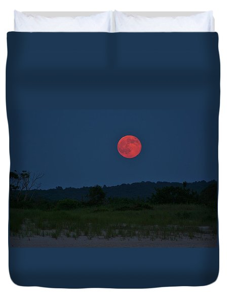 Super Moon July 2014 Duvet Cover