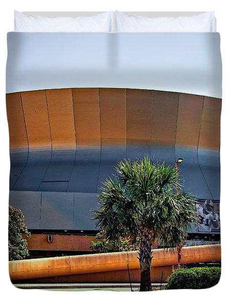 Superdome Duvet Cover by Steve Harrington