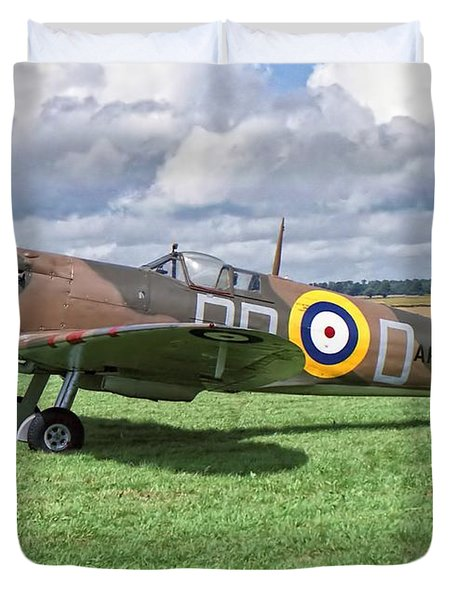 Supermarine Spitifire 1a Duvet Cover