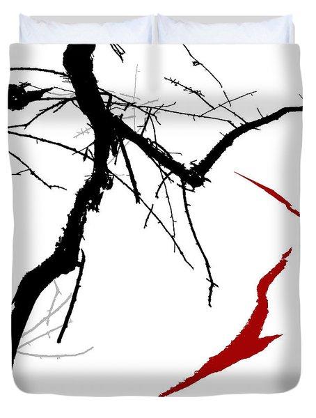Supernatural Duvet Cover by Ken Walker