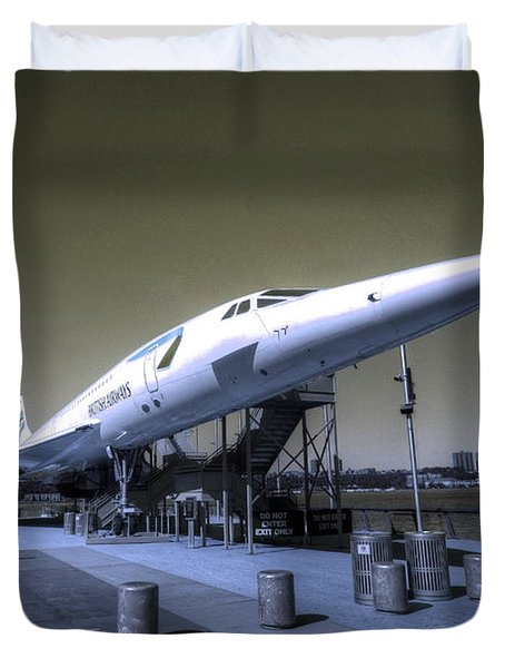 Supersonic  Duvet Cover by Rob Hawkins