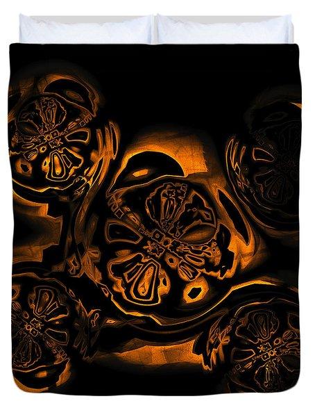 Suranan Artifact Duvet Cover