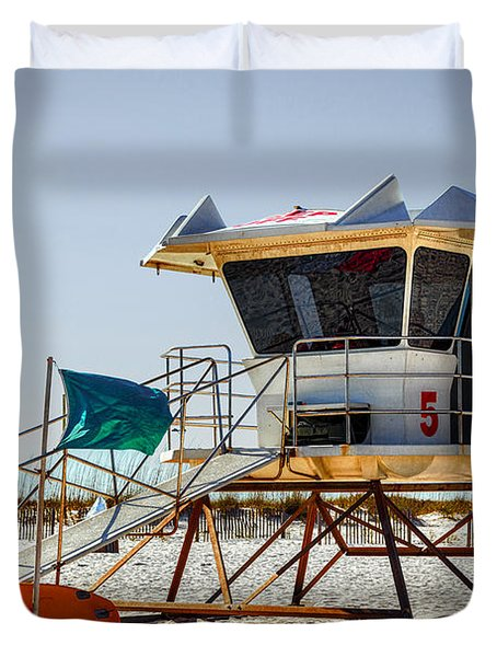 Surf Rescue Duvet Cover