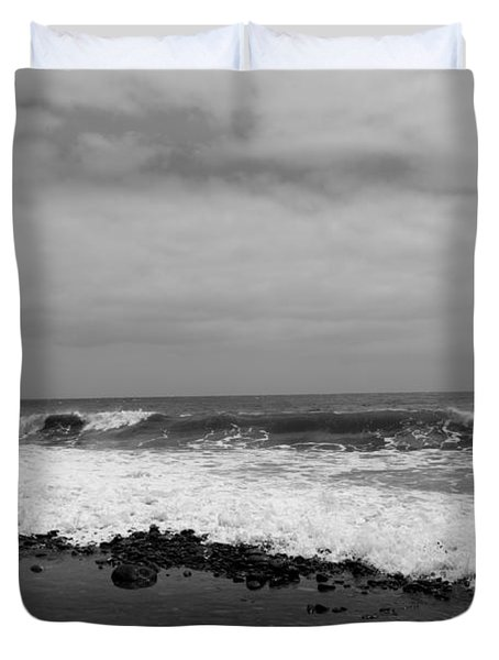 Surf Rolling In  Duvet Cover