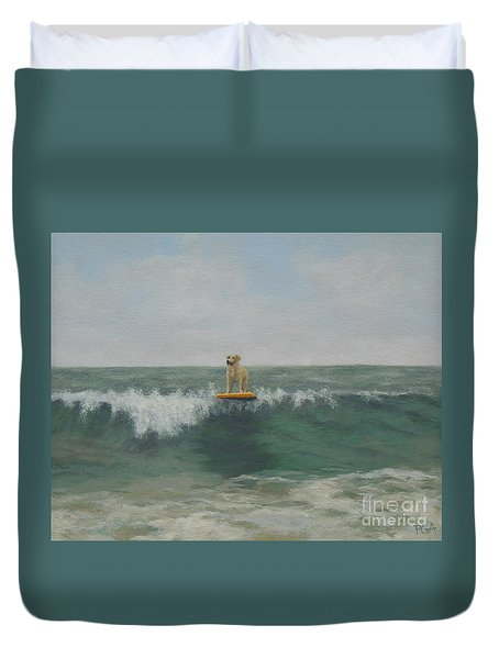 Surfer Lab Duvet Cover