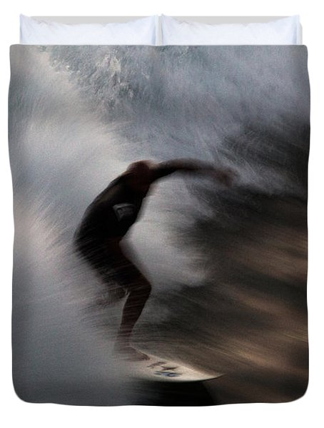 Surge Duvet Cover by John Daly