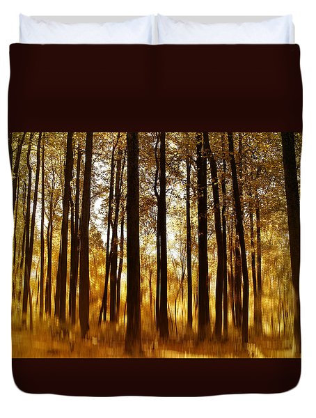 Surreal Autumn Duvet Cover