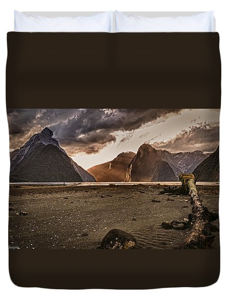 Surreal Milford Duvet Cover