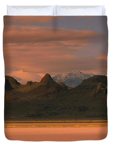Surreal Mountains In Utah #4 Duvet Cover