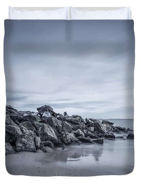Surrender To The Sea Duvet Cover