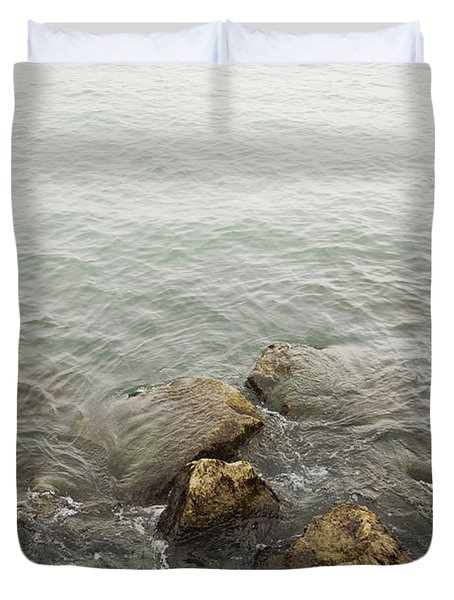 Surrounded Duvet Cover by Margie Hurwich