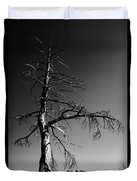 Survival Tree Duvet Cover by Chad Dutson