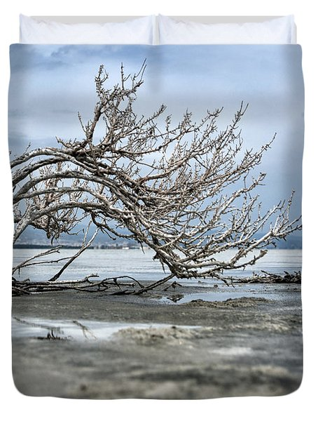 A Smal Giant Bush Duvet Cover by Mike Santis