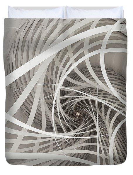 Suspension Bridge-fractal Art Duvet Cover