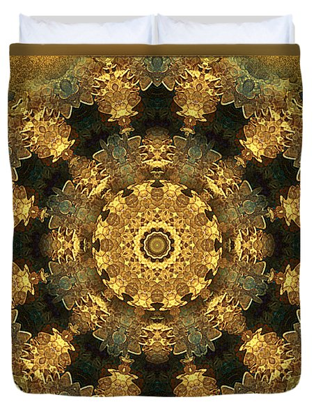 Svadhisthana Chakra Mandala - Spiritual Art By Giada Rossi Duvet Cover