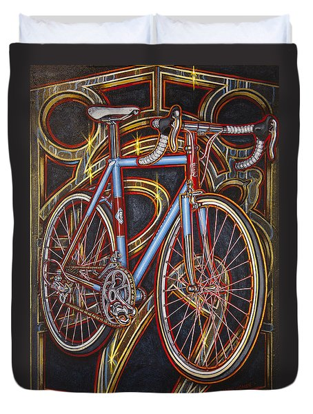 Swallow Bespoke Bicycle Duvet Cover