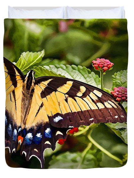 Swallowtail Beauty Duvet Cover