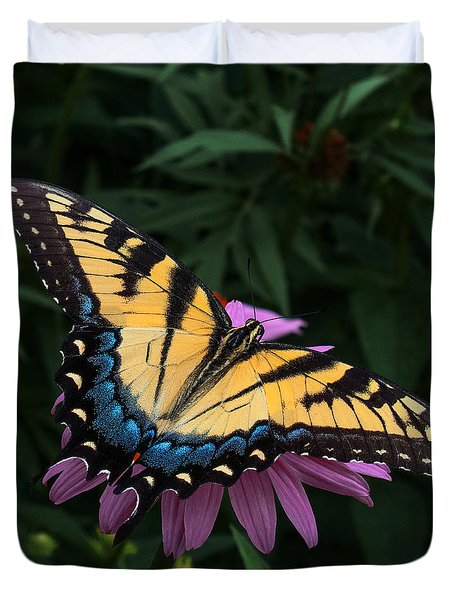 Swallowtail  Duvet Cover by Don Spenner