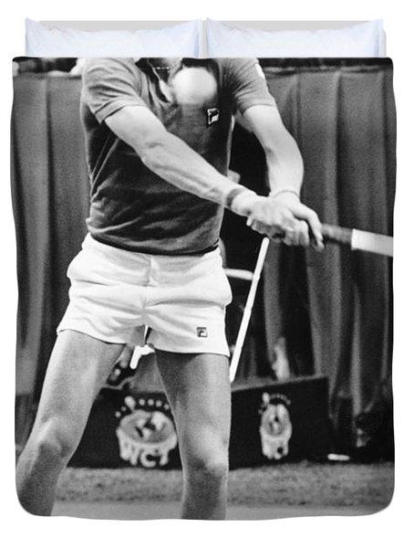 Swedish Tennis Star Bjorn Borg Duvet Cover