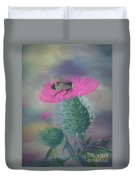 Sweet And Prickly Duvet Cover