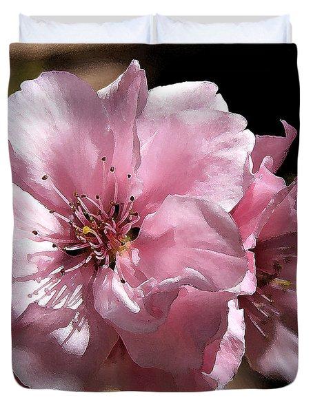 Sweet Blossoms Duvet Cover